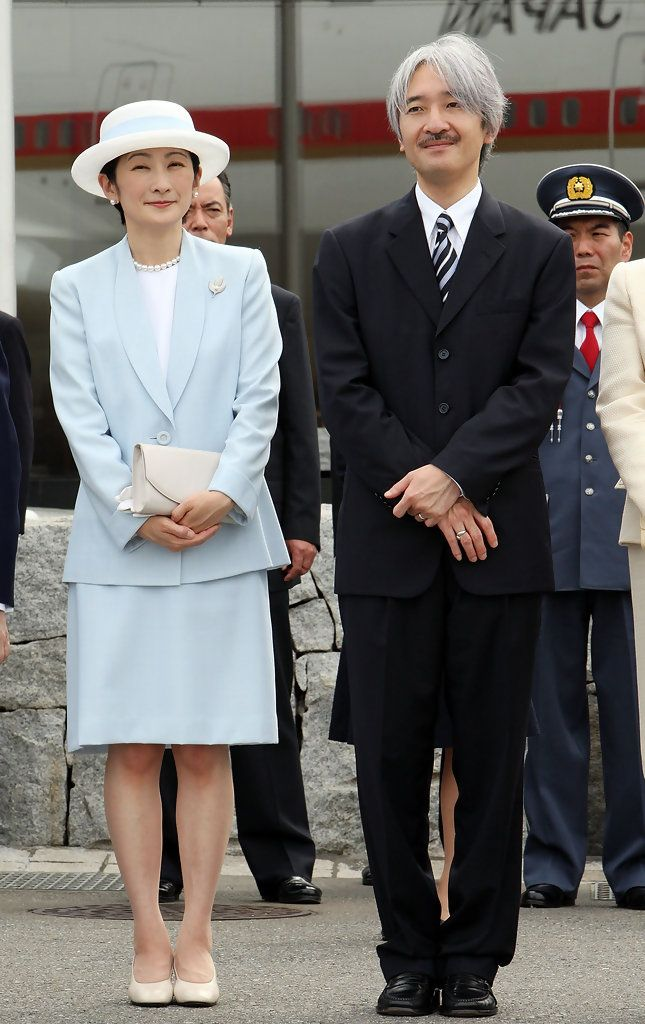 Princess Kiko and Prince Akishino (born 30 November 1965) -  http://en.wikipedia.org/wiki/Fumihito,_Prince_Akishino  ||  Prince Akishino Photos: Emperor Akihito And Empress Michiko Depart For Canada And Hawaii