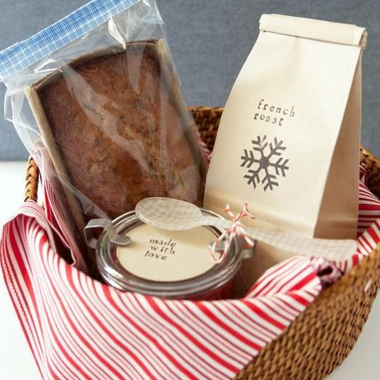 DIY Gift Basket Ideas  - Breakfast With Love - Click pic for 25 DIY Christmas Gift Ideas