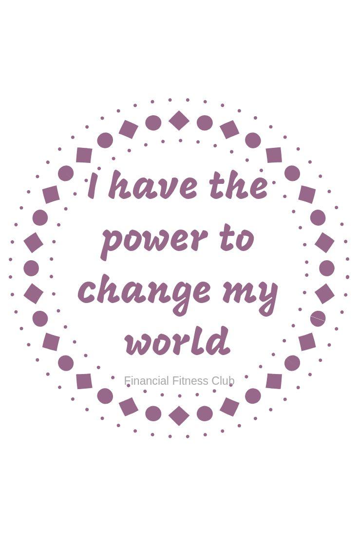 Power to Change my World – Affirmation Coffee Mug | Tea Cup | Inspirational Mug | Quotes Mug | Law of Attraction