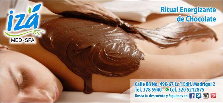 IZA MED SPA Ritual Energizante de Chocolate.