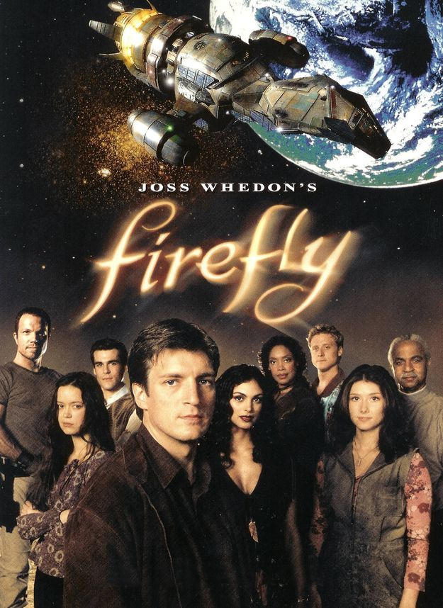 Firefly , a short-lived space western TV show created by Joss Whedon, aired for four months in 2002 before it was cancelled by the Fox Broadcasting Company. The show developed a passionate fan base, known collectively as Browncoats.