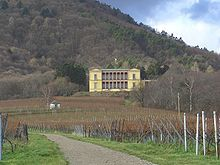 Villa Ludwigshöhe is a former summer residence of Ludwig I of Bavaria overlooking Edenkoben and Rhodt unter Rietburg in Rhineland-Palatinate, Germany.