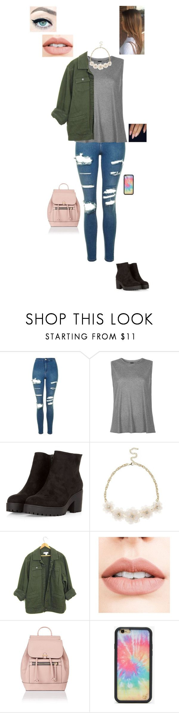 """22.10.17"" by jesshorne2016 ❤ liked on Polyvore featuring Topshop, Boutique, Jouer, Accessorize and Wildflower"