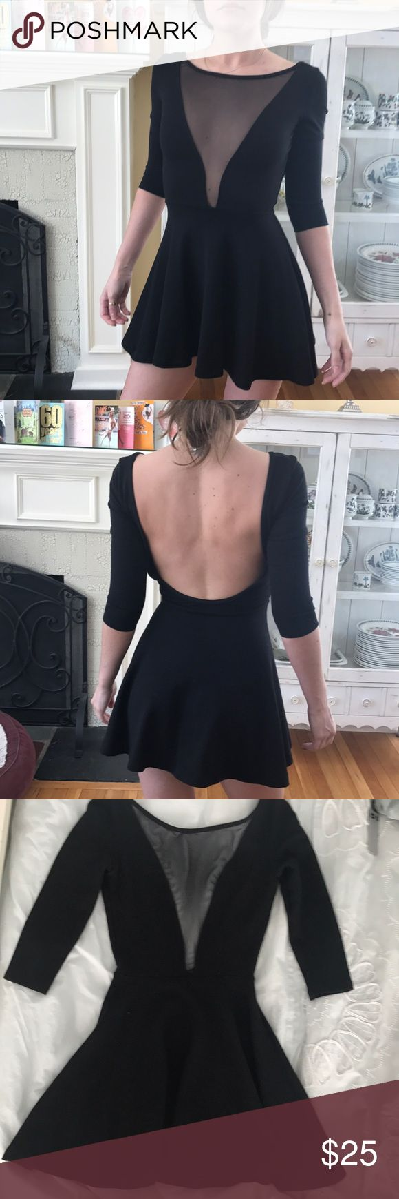 🎉American Apparel Black Mini Dress🎉 🎉American Apparel Black Mini Dress🎉 Size Small. Pre-Loved but in perfect condition!!! Absolutely adorable& perfect for any occasion 💕😊 American Apparel Dresses Mini