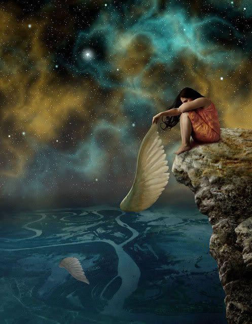 Surreal Art, Broken Angel Wings. | Inspiring Art ...