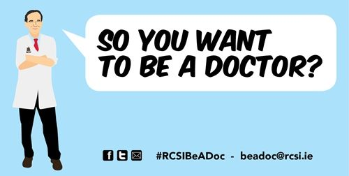 So You Want To Be A Doctor is a three part live-streamed broadcast series, produced by RCSI, which is presented by Professor Arnold Hill, Head of RCSI's School of Medicine - Royal College Surgeons in Ireland