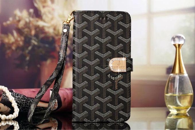 Samsung Goyard Galxy S7 Edge Plus Cases Wallet Black :: Goyard Galxy S7 Edge Plus Cases Covers Sleeve Coque Fundas Capa Para