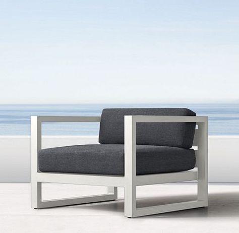 RH's Aegean Aluminum Collection - White