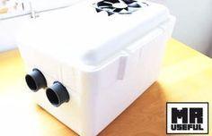 Fabriquer un climatiseur maison à moins de 50$ pour vous rafraîchir cet été durant les chaudes journées!