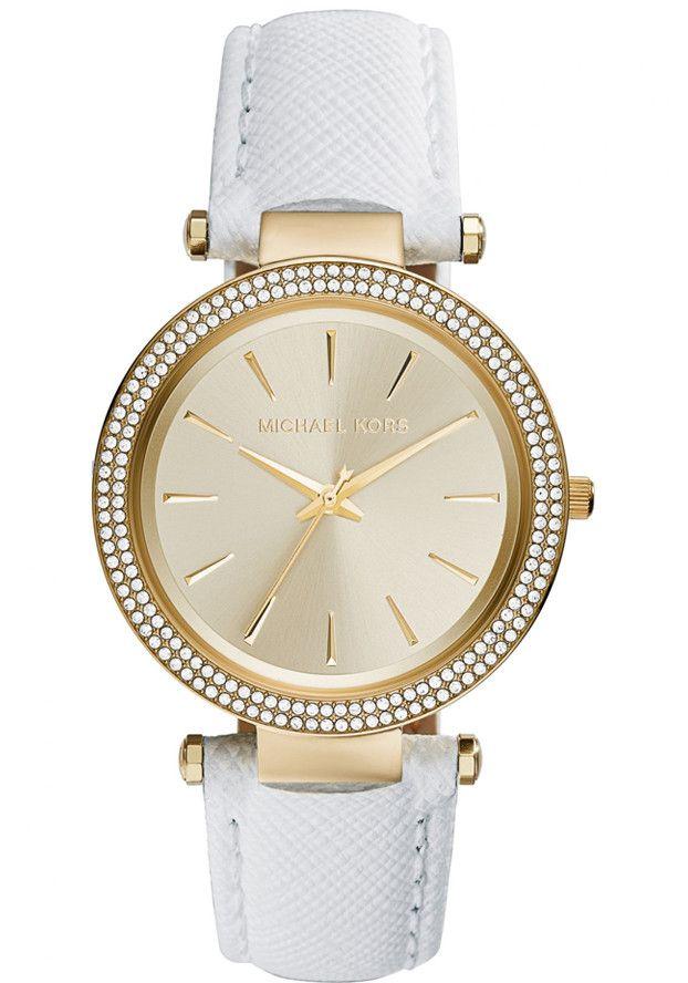 Michael Kors Women's Darci MK2391 White Stainless-Steel Quartz Watch