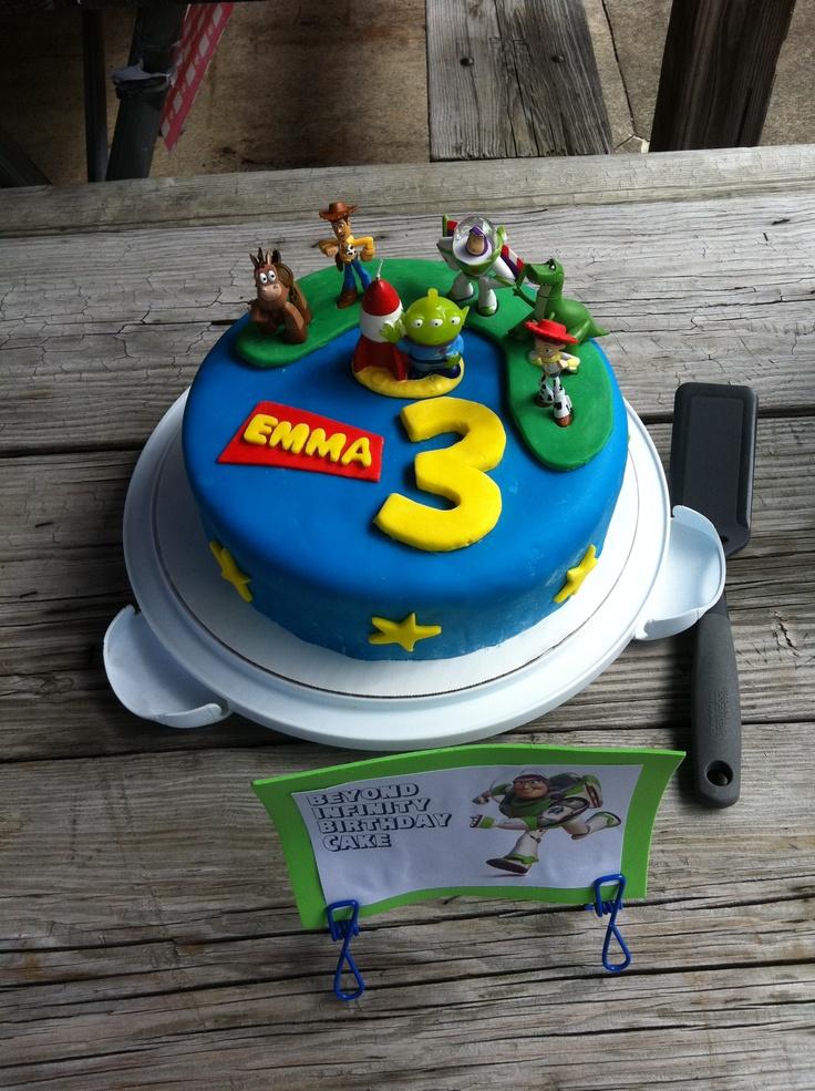 Toy Story Birthday Cake Twins Cake Ideas Pinterest