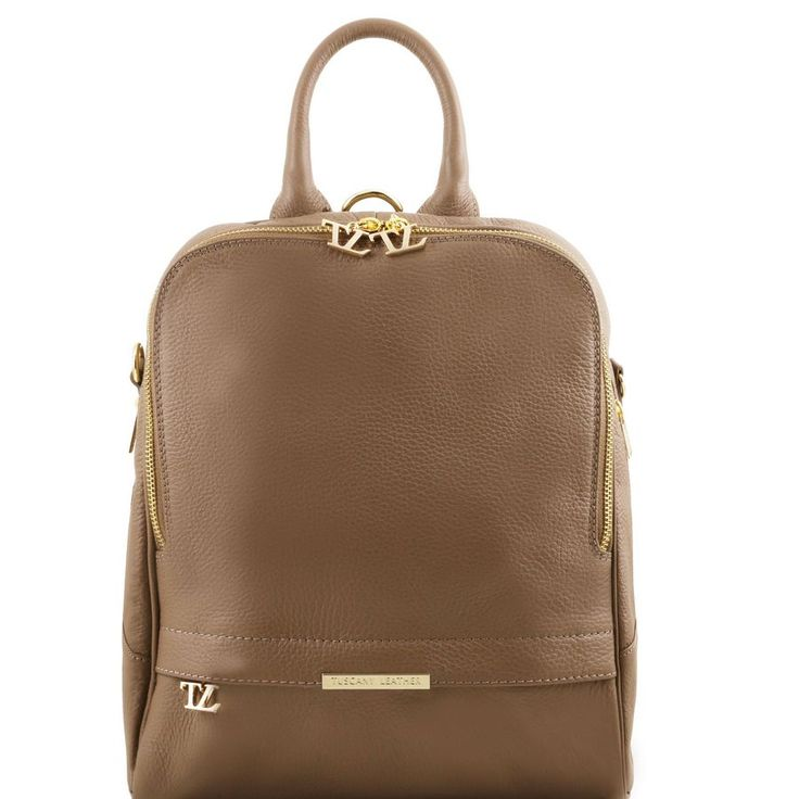 Soft Leather Backpack for Women  Made in Italian Premium Leather this exotic twist on an everyday staple. This on-trend backpack with beautifully textured accents and adjustable soft leather straps combined with multiple internal compartments keeps the essentials organised with ease.