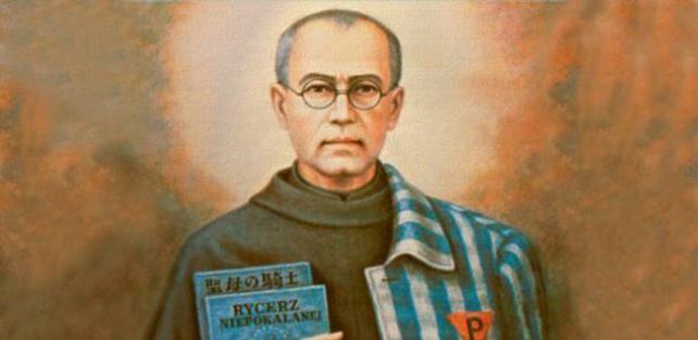 San Massimiliano Kolbe: simbolo della luce della fede cristiana che illumina le tenebre dellumanità