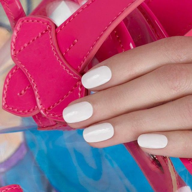 Not quite white  http://www.refinery29.com/2015/04/84843/jin-soon-choi-nail-polish-interview#slide-3  A not-quite-white shade like JINsoon's doux, pictured here, is another one of the nail guru's spring favorites. ...