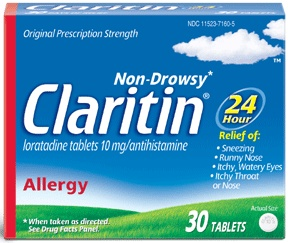 Claritin 24 hour non drowsy allergy relief 10 mg tablets - 30 ea