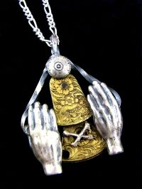 SILENT IS GOLD NECKLACE