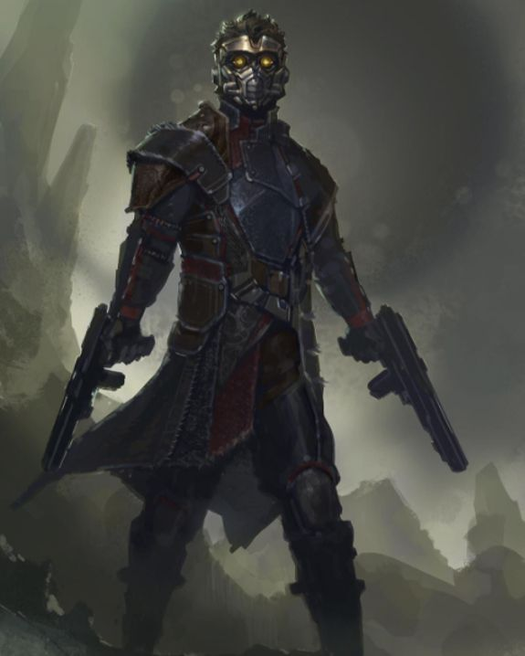 'Guardians of the Galaxy' concept art