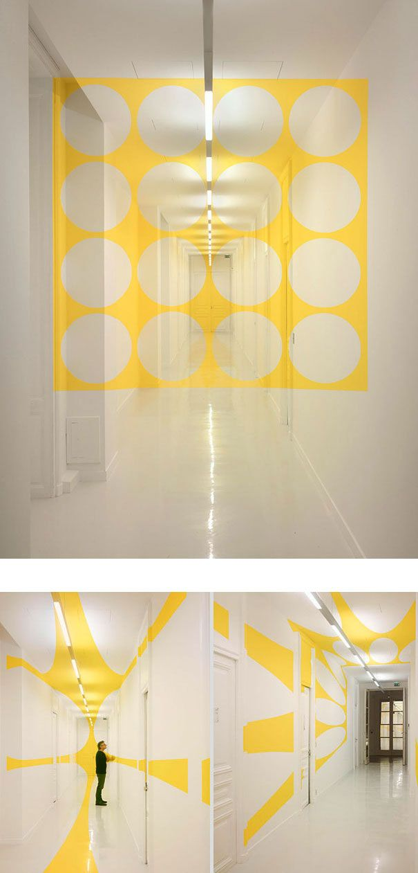 239 best Interior Design: Walls: 3D Illusions images on Pinterest ...