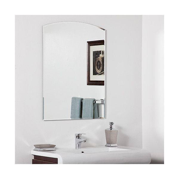 Bathroom Mirrors Frameless Beveled best 25+ frameless beveled mirror ideas on pinterest | beveled