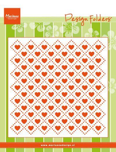 Df3432 Design folder: Sweet hearts