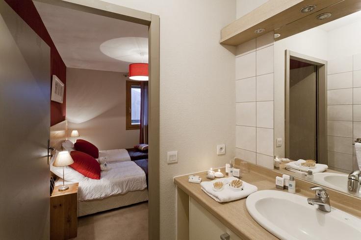 L'Etoile des Cimes (Bedroom + bathroom) - Sainte Foy