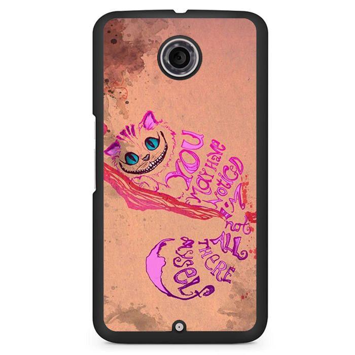 Alice In Wonderland Girls Animal Pink Phonecase Cover Case For Google Nexus 4 Nexus 5 Nexus 6