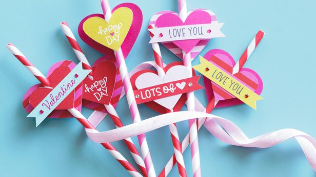 simple valentine's day crafts | Valentine's Day Crafts #Hallmark #HallmarkIdeas