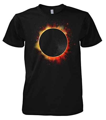 Geek Solar Eclipse - Moon 701897 T-Shirt 2XL...