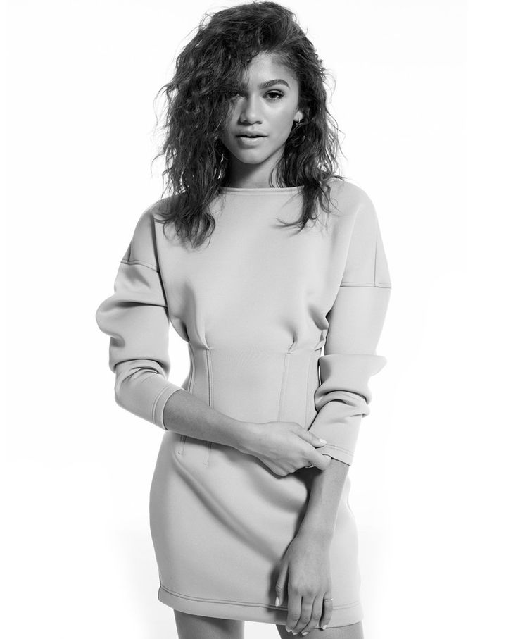 Zendaya photographed by Francesco Carrozzini, wearing in Daya by Zendaya.
