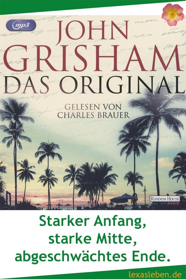 """""""Das Original"""" von John Grisham weiß bis zum Ende zu überzeugen. Es ist spannend und unterhaltsam. Nur ganz zum Schluss fehlen die Ideen für ein spektakuläres Finale.  https://lexasleben.de/?p=5569"""