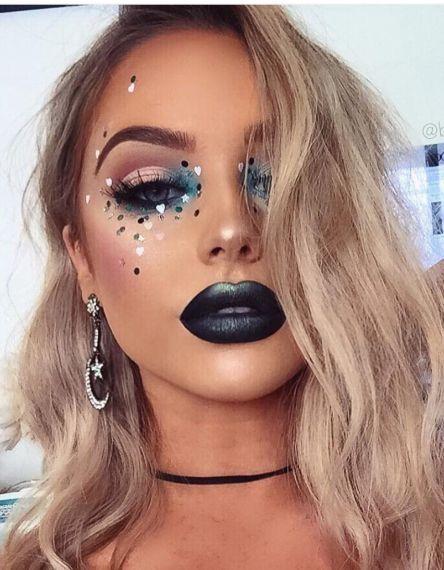 Makeup & Hair Ideas: Going To Coachella Festival Try This Beautiful 55 Makeup Id…