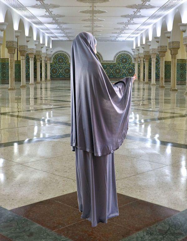 Gebetskleidung 2tlg. dunkelgrau