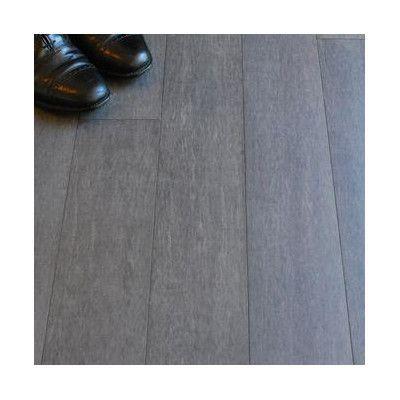 "ECOfusion Flooring 4-1/2"" Solid Bamboo Hardwood Flooring in Mineral Gray"
