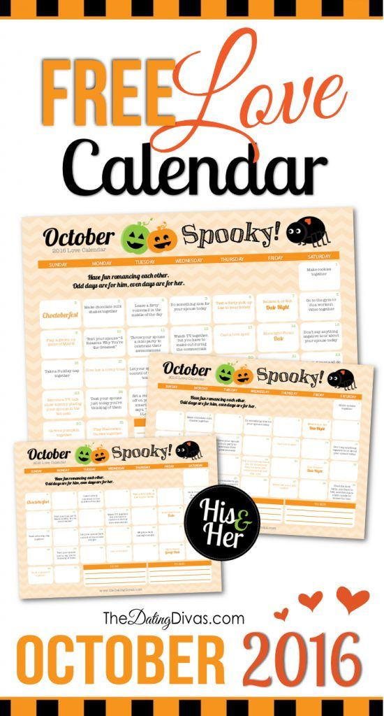 October Love Calendar- a 31 day marriage challenge FULL of fun and flirty romance tips to help reconnect you with your spouse and strengthen your marriage. It's amazing what a month of intentionally loving your spouse can do! There's even a HIS and HERS version!