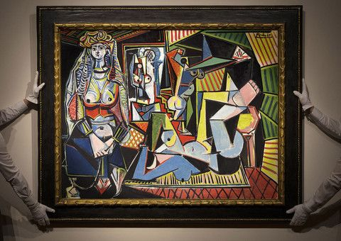 A Million Dollar Monday- A Picasso Painting sold for auction record  #SADMBlog #Picasso #NewYork #Christies