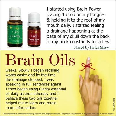#BrainPower Reduce/Clear #MentalFog Increae your #Clarity  http://www.us.ylscents.com/cindyland