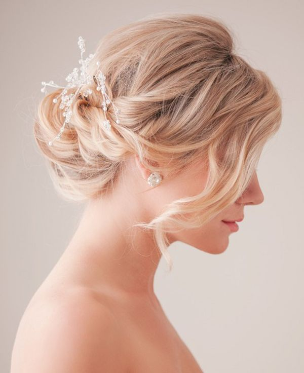 bridal updo hairstyle trend in 2015