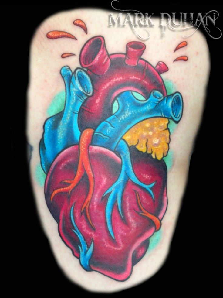 1000 ideas about anatomical heart tattoos on pinterest. Black Bedroom Furniture Sets. Home Design Ideas