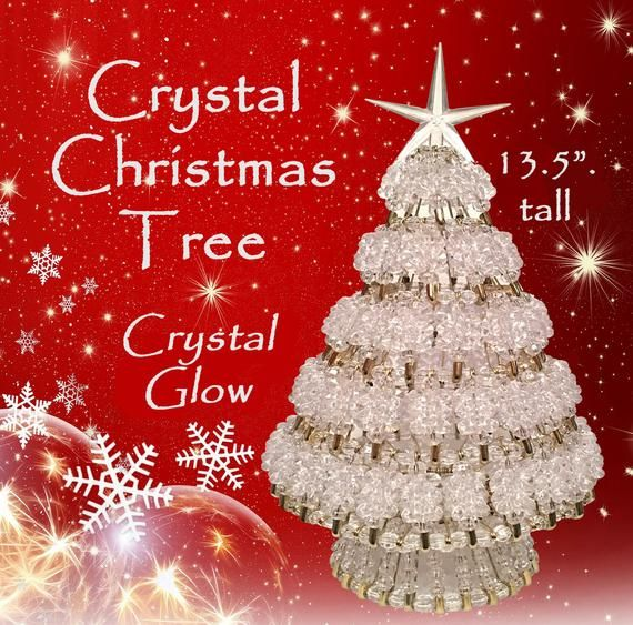 This Is My Number One Seller Its Absolutely Stunning Its A Limited Edition And If This Ad Is In 2020 Christmas Tree Beads Christmas Tree Kit Crystal Christmas Tree
