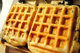 Put left over stuffing in your waffle maker...and make a turkey sandwhich!