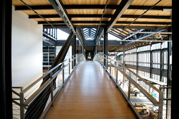 Pixar Interior Bridge.. pixar headquarters in general is amazing.