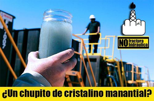 No Fractura Hidráulica / No Fracking