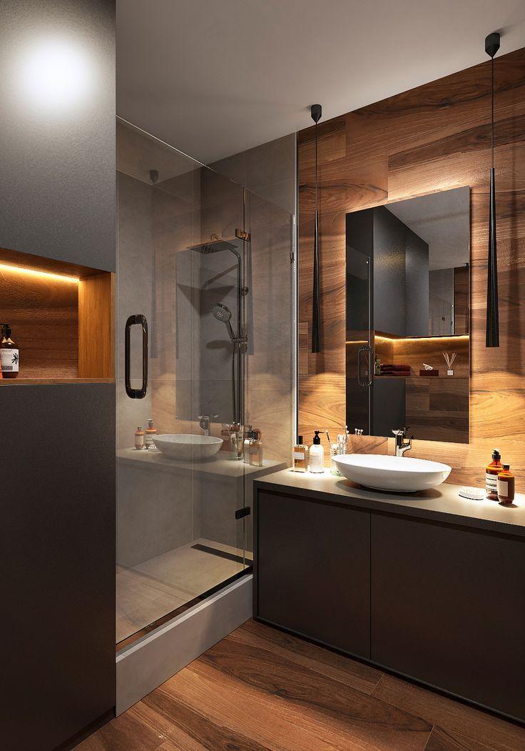 Badezimmer 4 m² - 3ddd.ru Galerie   Badezimmer Ideen in 2019 ...