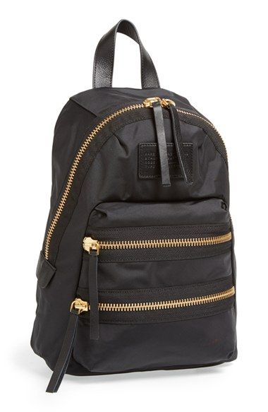 Free shipping and returns on MARC BY MARC JACOBS 'Mini Domo Arigato Packrat' Backpack at Nordstrom.com. A sporty, street-chic backpack crafted from durable nylon is fronted with a logo-stamped patch for a refined finish.