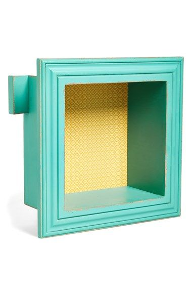 FORESIDE Square Shadow Box (Nordstrom Exclusive) at Nordstrom.com. Display small treasures and curiosities with élan in this antiqued wooden shadow box with a subtle patterned inset.   Nordstrom Rack