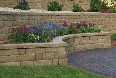 Retaining Walls Landscaping And Lawn On Pinterest