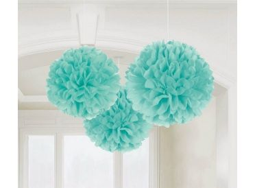 Robin's Egg Blue Fluffy Decorations | Whish.ca