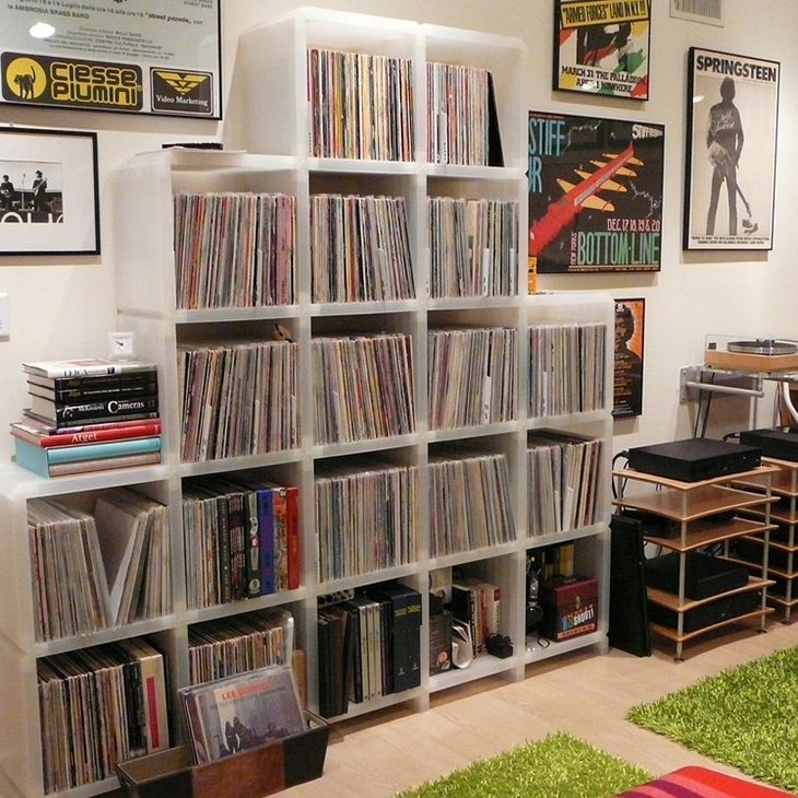 38 Best Vinyl Collection Interior Design Images On