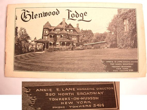 The Glenwood Lodge Yonkers New York Photos of by NeatstuffAntiques, $25.00