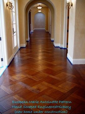 Hickory Plank Parquet   Traditional   Wood Flooring   Sacramento   By  Select Hardwood Floor Co